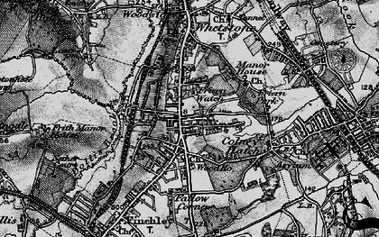 Old map of North Finchley in 1896