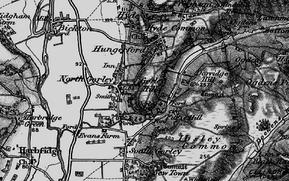 Old map of North Gorley in 1895