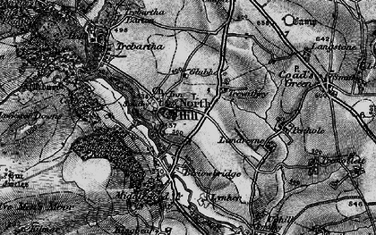 Old map of North Hill in 1895