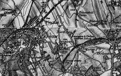 Old map of Drift Bridge in 1896