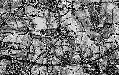 Old map of North Perrott in 1898