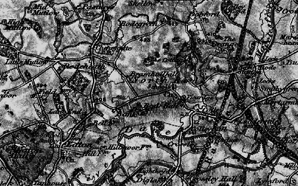 Old map of Lighthey in 1896