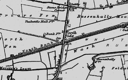Old map of North Side in 1898
