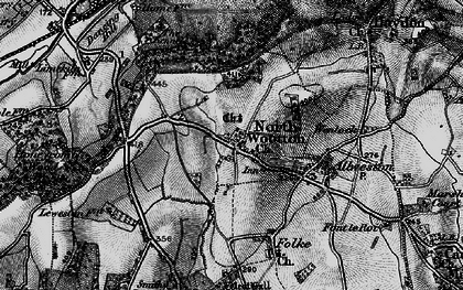 Old map of Westhill Lodge in 1898