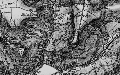 Old map of Banner Down in 1898