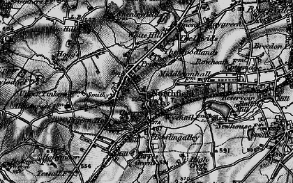 Old map of Northfield in 1899