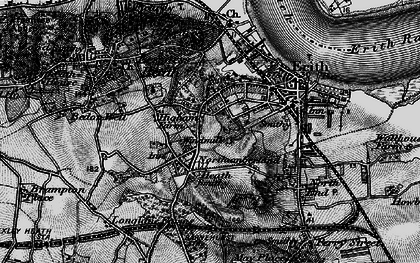 Old map of Northumberland Heath in 1896