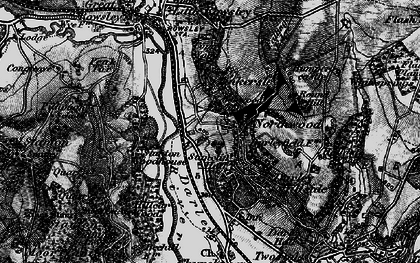 Old map of Northwood in 1897