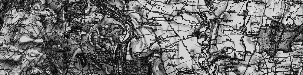 Old map of Norton in 1899