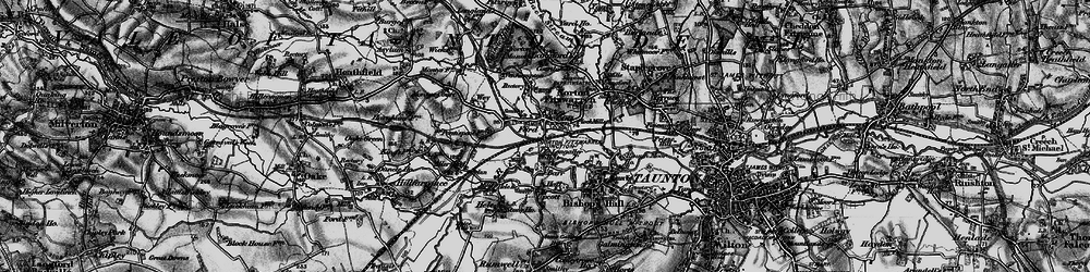 Old map of Wey Ho in 1898