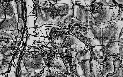 Old map of Norwood in 1896