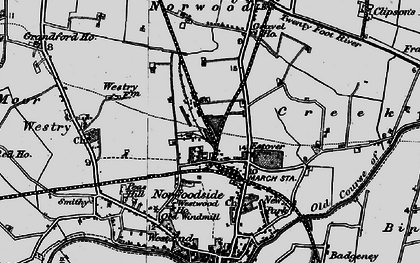 Old map of Norwoodside in 1898