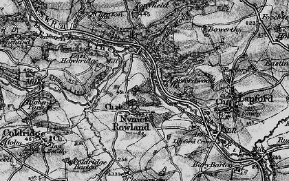 Old map of Toatley in 1898