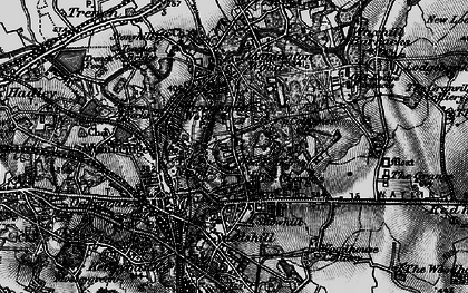 Old map of Oakengates in 1897