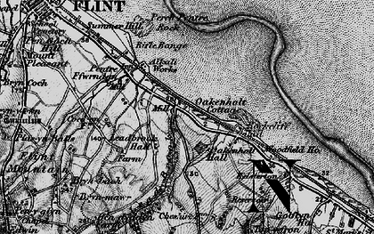 Old map of Lead Brook in 1896