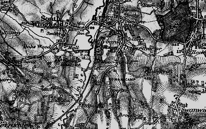 Old map of Oakerthorpe in 1896
