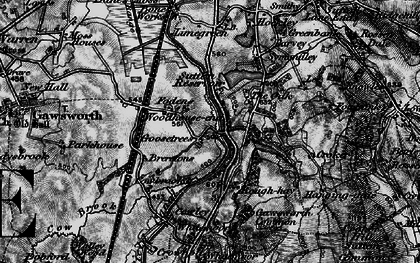 Old map of Oakgrove in 1896