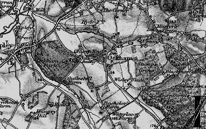 Old map of Ockham in 1896