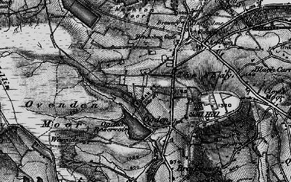 Old map of Ogden in 1896