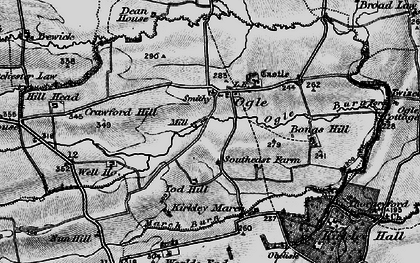 Old map of West Thorn in 1897