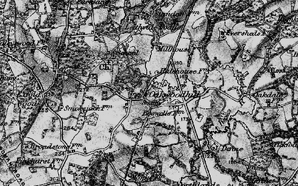 Old map of Leith Vale in 1896