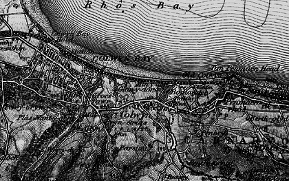 Old map of Old Colwyn in 1899