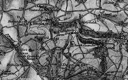Old map of Old Mill in 1896