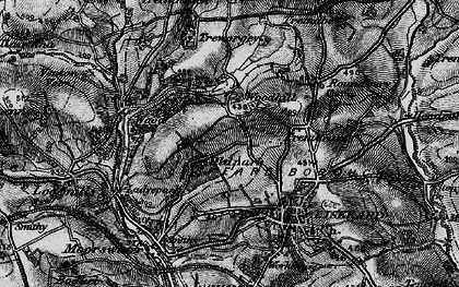 Old map of Old Park in 1896
