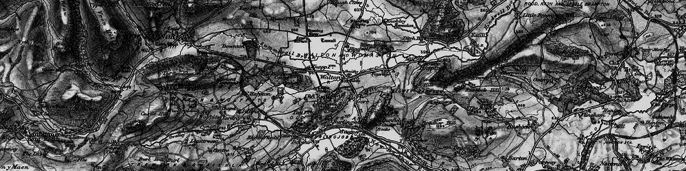 Old map of Old Radnor in 1899