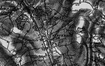 Old map of Old Town in 1896