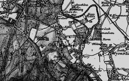 Old map of Albert Br in 1896