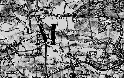 Old map of Wingate Ho in 1898