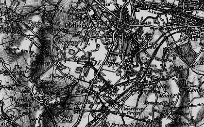 Old map of Oldbury in 1899