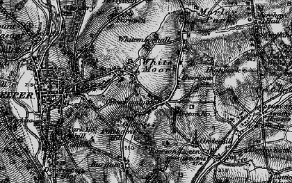 Old map of Openwoodgate in 1895