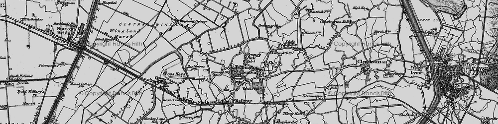 Old map of Alma Lodge in 1893