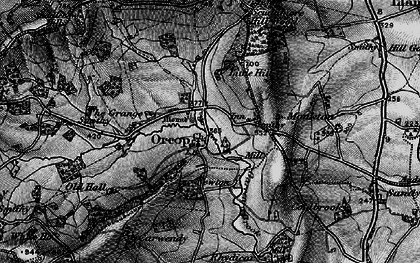 Old map of Orcop in 1896