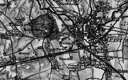 Old map of Whisker Hill in 1899