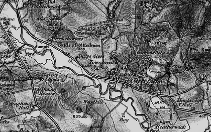 Old map of Tilesheds in 1897