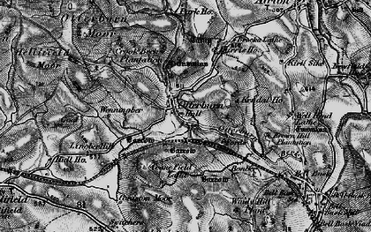 Old map of Airton Green in 1898