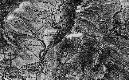 Old map of Leighton Hill in 1897