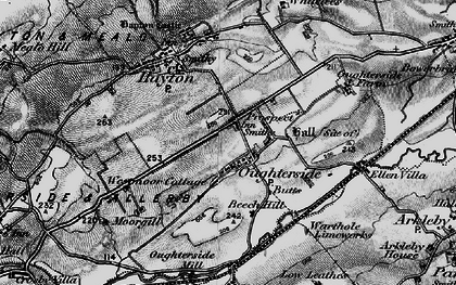 Old map of Tilekiln Cott in 1897