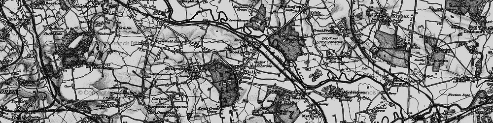 Old map of Oulton in 1896