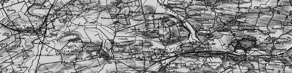 Old map of Aikhead Low Ho in 1897