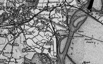 Old map of Sandhall in 1897