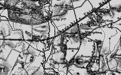 Old map of Windmill Bank in 1897
