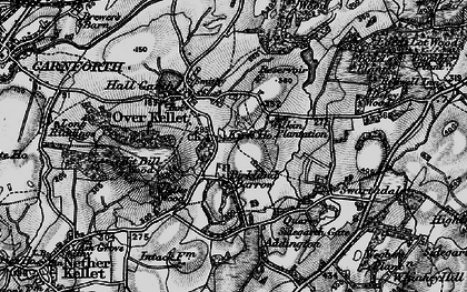 Old map of Over Kellet in 1898