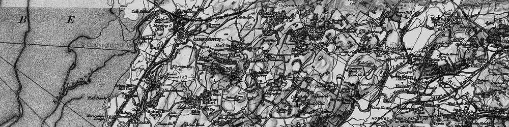 Old map of Addington in 1898