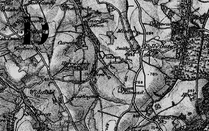 Old map of Westacombe in 1898
