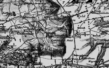 Old map of Admiral Plantn in 1898