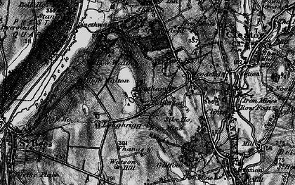 Old map of Whangs in 1897
